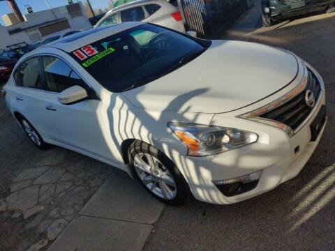 2013 Nissan Altima for sale at Sanaa Auto Sales LLC in Denver CO