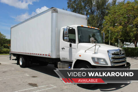 2016 Hino 268 for sale at Truck and Van Outlet in Miami FL