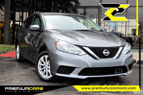 2019 Nissan Sentra for sale at Premium Cars of Miami in Miami FL