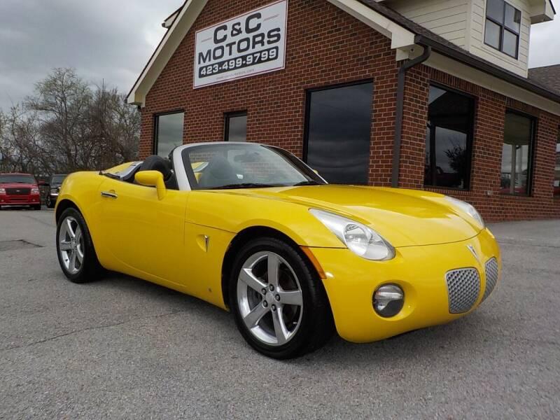 2007 Pontiac Solstice for sale at C & C MOTORS in Chattanooga TN