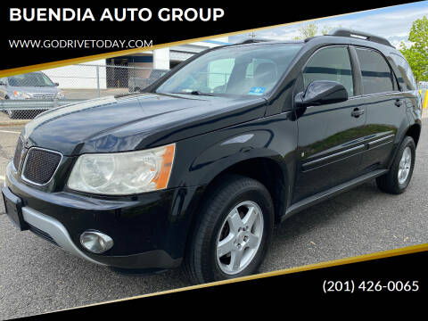 2006 Pontiac Torrent for sale at BUENDIA AUTO GROUP in Hasbrouck Heights NJ