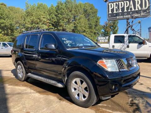 2006 Nissan Pathfinder for sale at Peppard Autoplex in Nacogdoches TX