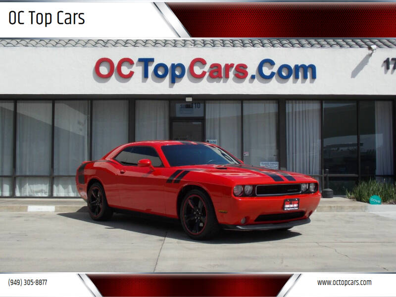 2014 Dodge Challenger for sale at OC Top Cars in Irvine CA