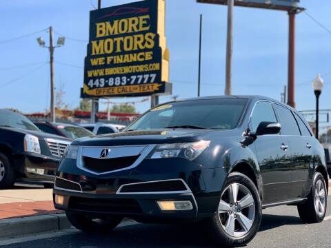 2012 Acura MDX for sale at Bmore Motors in Baltimore MD
