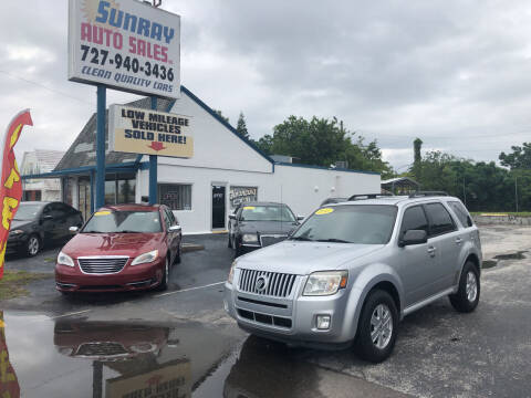 2010 Mercury Mariner for sale at Sunray Auto Sales Inc. in Holiday FL