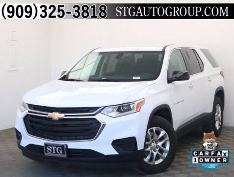2019 Chevrolet Traverse for sale at STG Auto Group in Montclair CA