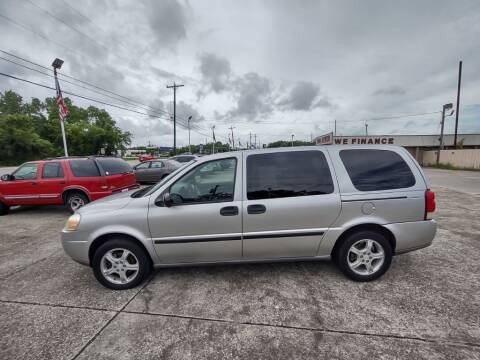 2007 Chevrolet Uplander for sale at BIG 7 USED CARS INC in League City TX