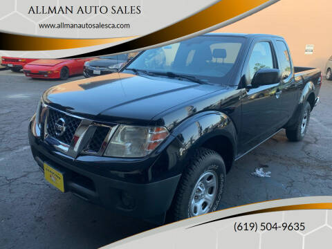 2014 Nissan Frontier for sale at ALLMAN AUTO SALES in San Diego CA