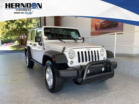 2015 Jeep Wrangler Unlimited for sale at Herndon Chevrolet in Lexington SC