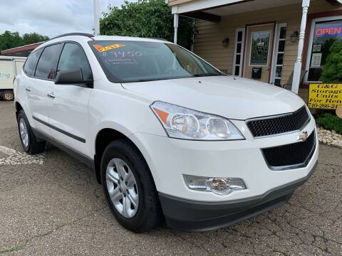 2012 Chevrolet Traverse for sale at G & G Auto Sales in Steubenville OH