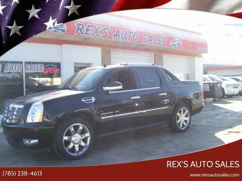 2011 Cadillac Escalade EXT for sale at Rex's Auto Sales in Junction City KS