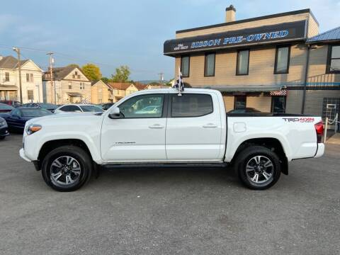 2018 Toyota Tacoma for sale at Sisson Pre-Owned in Uniontown PA