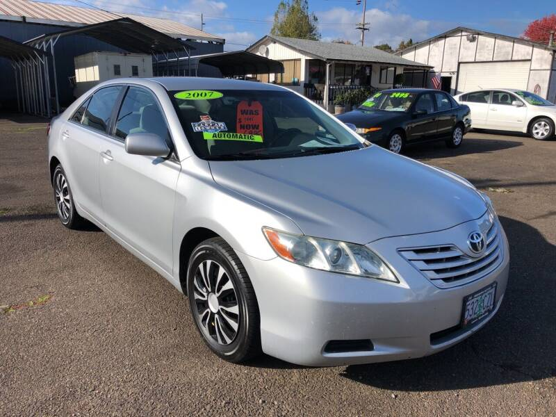 2007 Toyota Camry for sale at Freeborn Motors in Lafayette, OR