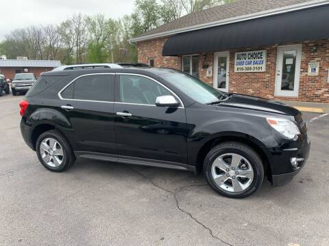 2013 Chevrolet Equinox for sale at Auto Choice in Belton MO