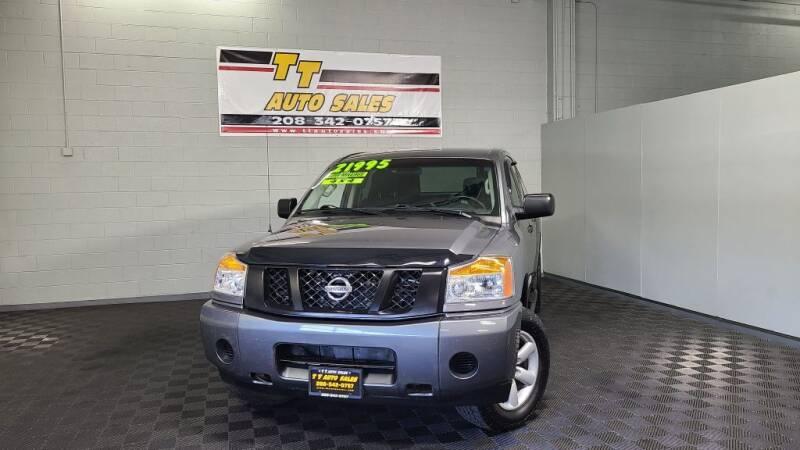 2013 Nissan Titan for sale at TT Auto Sales LLC. in Boise ID