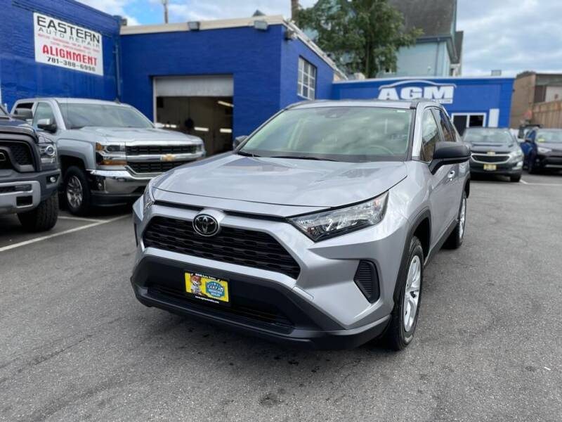 2019 Toyota RAV4 for sale at AGM AUTO SALES in Malden MA