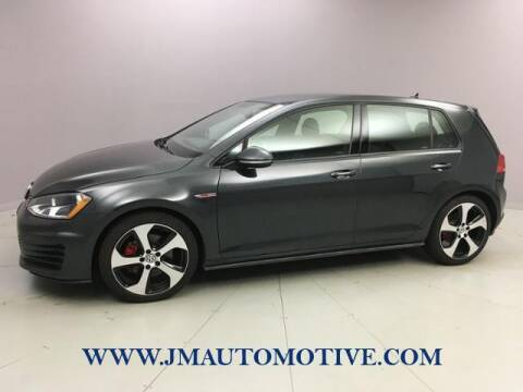 2017 Volkswagen Golf GTI for sale at J & M Automotive in Naugatuck CT