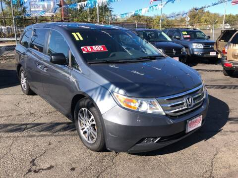 2011 Honda Odyssey for sale at Riverside Wholesalers 2 in Paterson NJ