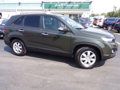 2012 Kia Sorento for sale at Jim O'Connor Select Auto in Oconomowoc WI