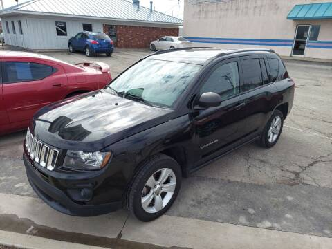2016 Jeep Compass for sale at Bourbon County Cars in Fort Scott KS