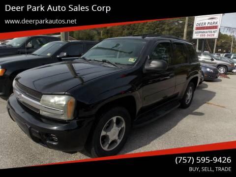 2007 Chevrolet TrailBlazer for sale at Deer Park Auto Sales Corp in Newport News VA