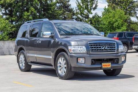 2010 Infiniti QX56 for sale at Chevrolet Buick GMC of Puyallup in Puyallup WA