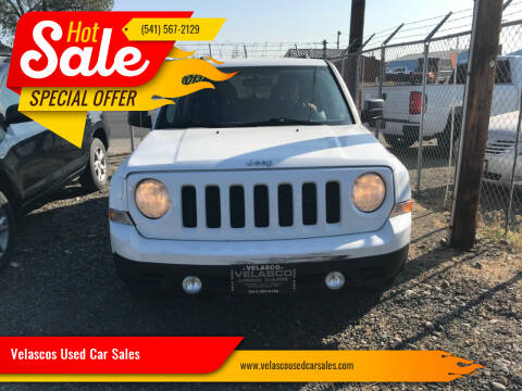 2013 Jeep Patriot for sale at Velascos Used Car Sales in Hermiston OR