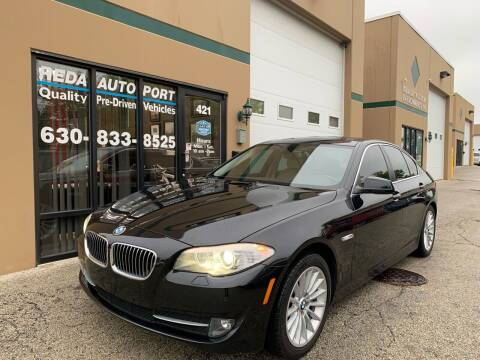 2013 BMW 5 Series for sale at REDA AUTO PORT INC in Villa Park IL