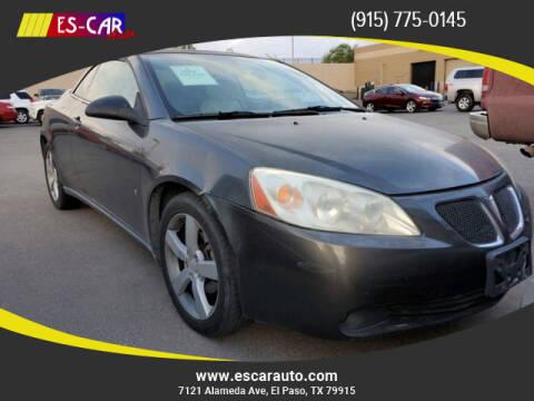 2007 Pontiac G6 for sale at Escar Auto in El Paso TX