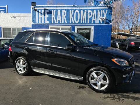2013 Mercedes-Benz M-Class for sale at The Kar Kompany Inc. in Denver CO