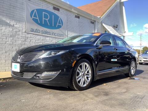 2016 Lincoln MKZ Hybrid for sale at ARIA AUTO SALES in Raleigh NC