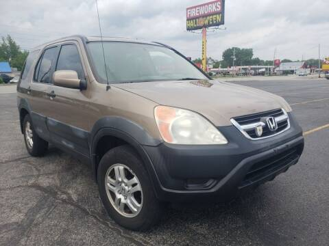 2003 Honda CR-V for sale at speedy auto sales in Indianapolis IN