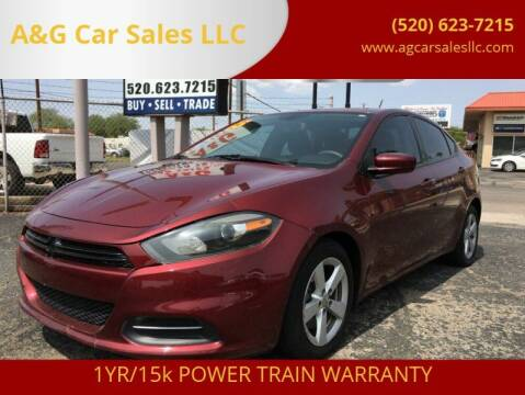 2015 Dodge Dart for sale at A&G Car Sales  LLC in Tucson AZ
