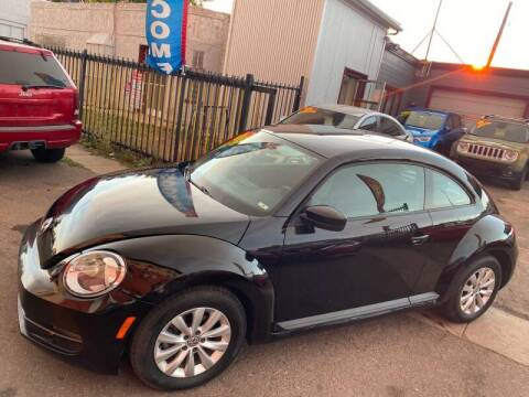 2013 Volkswagen Beetle for sale at Sanaa Auto Sales LLC in Denver CO