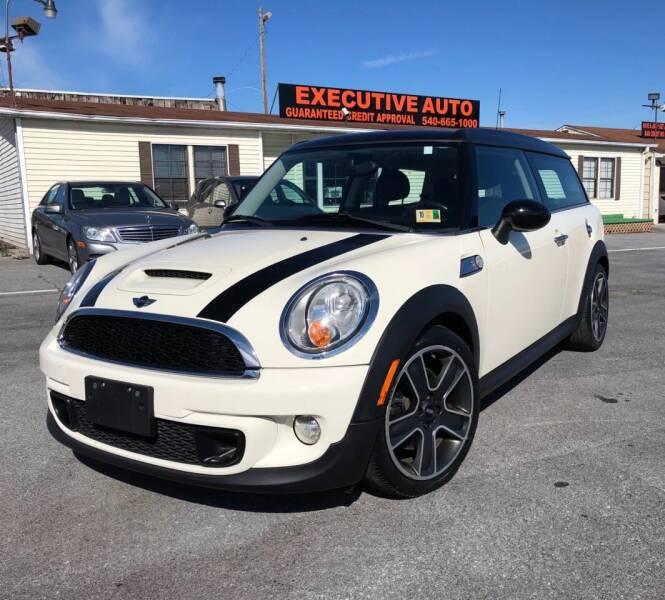 2012 MINI Cooper Clubman for sale at Executive Auto in Winchester VA