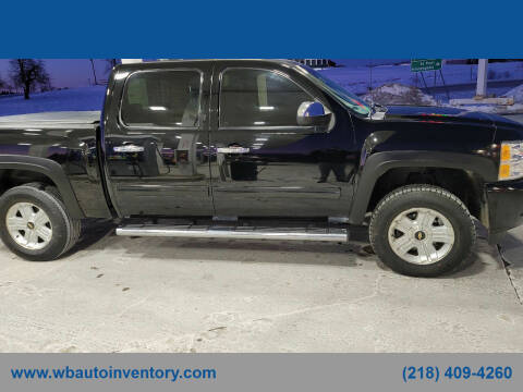 2011 Chevrolet Silverado 1500 for sale at WB Auto Sales LLC in Barnum MN