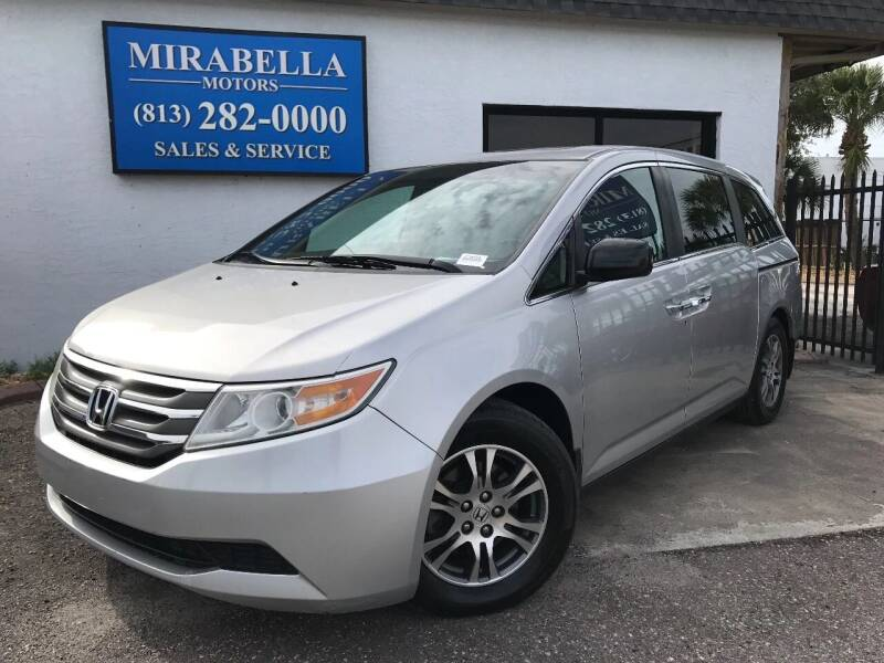 2011 Honda Odyssey for sale at Mirabella Motors in Tampa FL