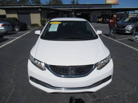 2014 Honda Civic for sale at Maluda Auto Sales in Valdosta GA