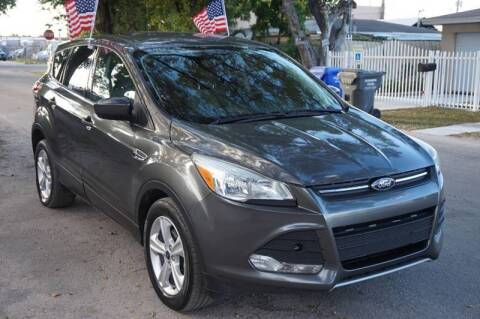 2015 Ford Escape for sale at SUPER DEAL MOTORS in Hollywood FL