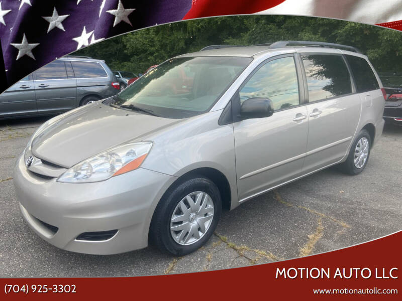 2008 Toyota Sienna for sale at Motion Auto LLC in Kannapolis NC