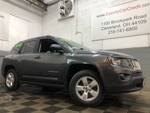 2015 Jeep Compass for sale at County Car Credit in Cleveland OH