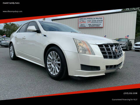2012 Cadillac CTS for sale at David Family Auto in New Port Richey FL