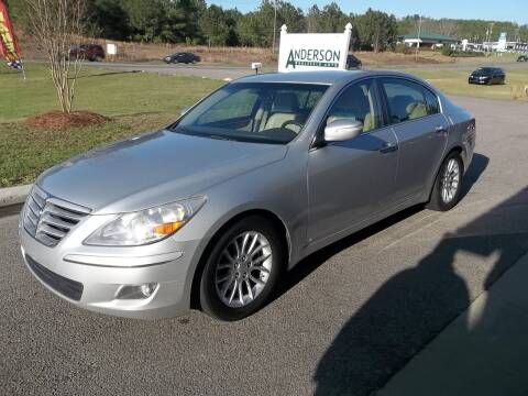 2011 Hyundai Genesis for sale at Anderson Wholesale Auto in Warrenville SC