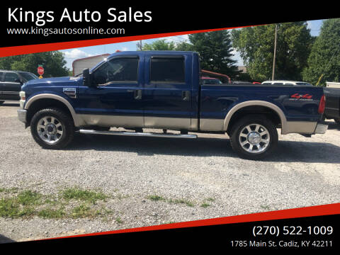 2008 Ford F-250 Super Duty for sale at Kings Auto Sales in Cadiz KY