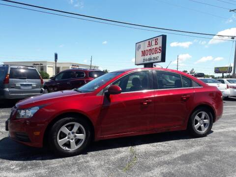2014 Chevrolet Cruze for sale at Ace Motors in Saint Charles MO