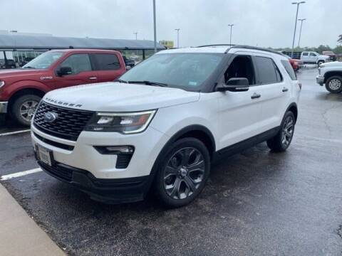 2018 Ford Explorer for sale at Jerry's Buick GMC in Weatherford TX