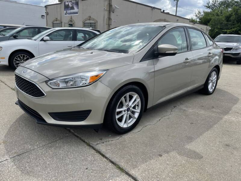 2015 Ford Focus for sale at T & G / Auto4wholesale in Parma OH