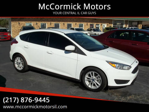 2018 Ford Focus for sale at McCormick Motors in Decatur IL
