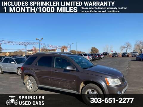 2007 Pontiac Torrent for sale at Sprinkler Used Cars in Longmont CO