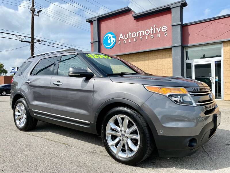 2011 Ford Explorer for sale at Automotive Solutions in Louisville KY